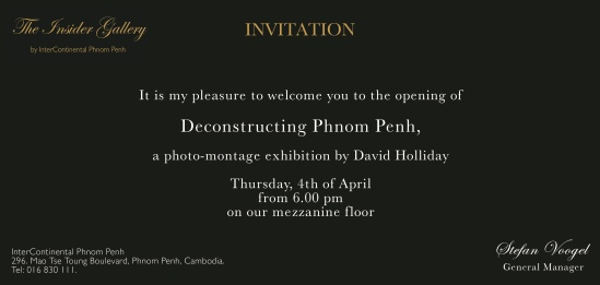 invite to exhibition
