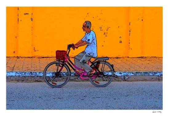The Bike man